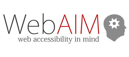 WebAIM 英文官網